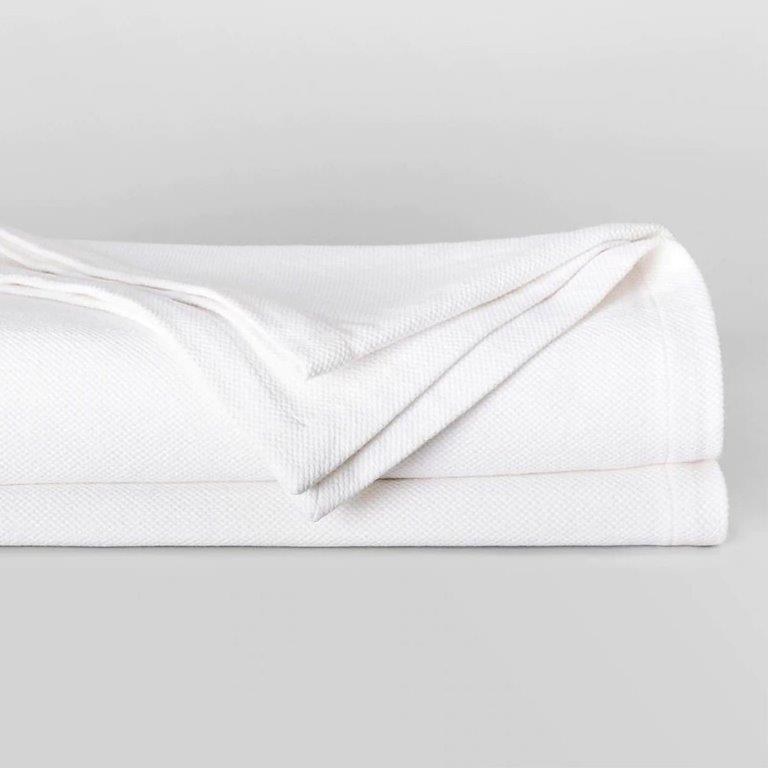 Cotton Weave Blanket by Sheridan