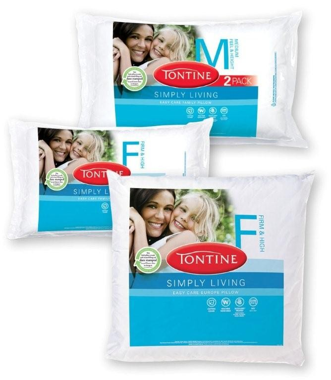 Simply Living Pillow Range by Tontine