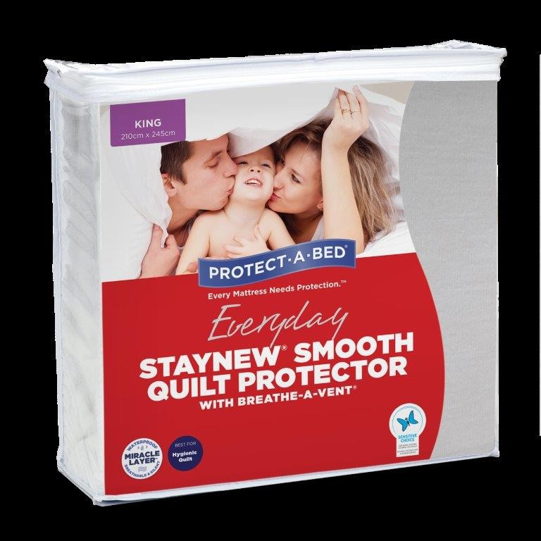 Stay New Smooth Quilt Protector by Protect a Bed