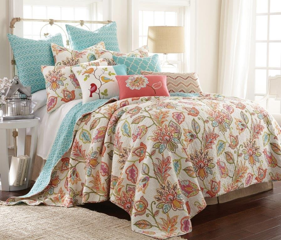 Sophia Quilted Coverlet