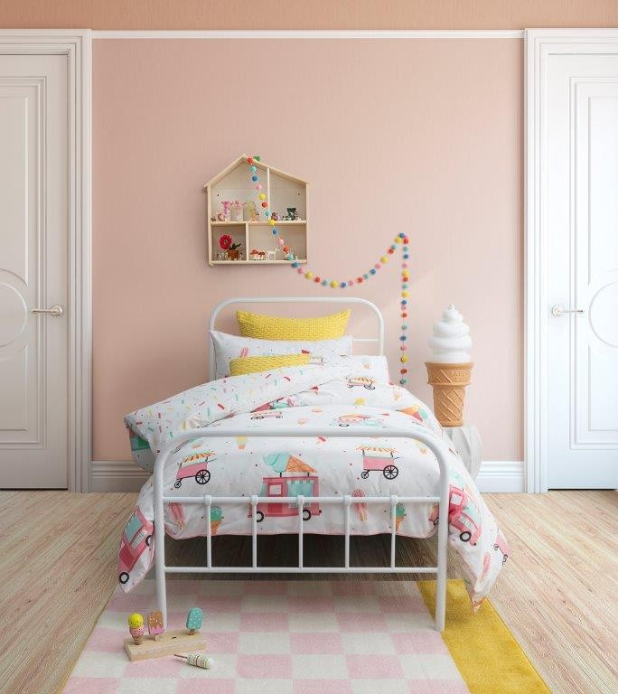 Sprinkles Gelato Single bed Quilt Cover Set by Logan & Mason