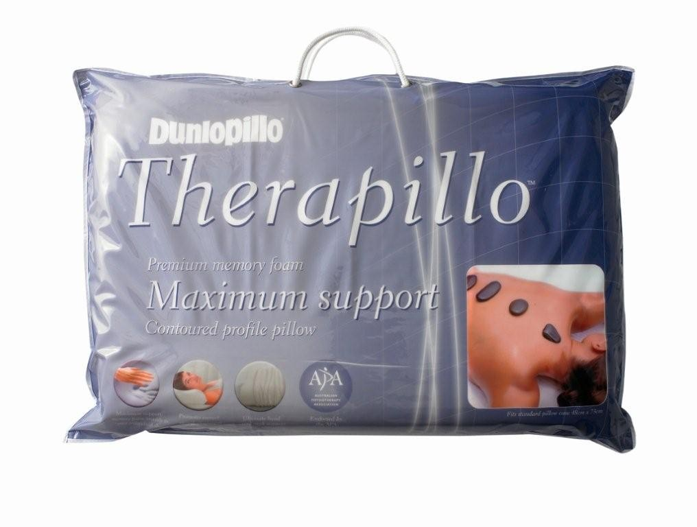 Dunlopillo Therapillo Premium Memory Foam Contour Pillow by Sheridan
