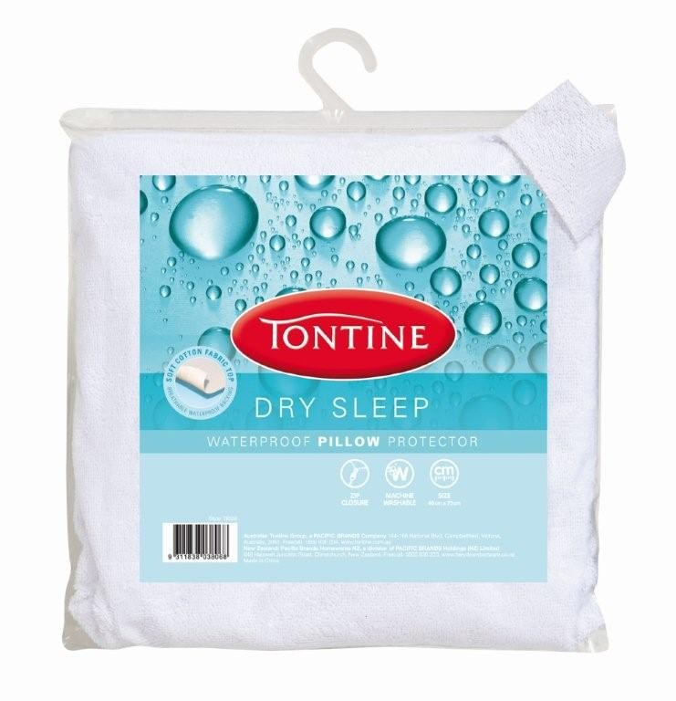 Dry Sleep Waterproof Pillow Protector by Tontine