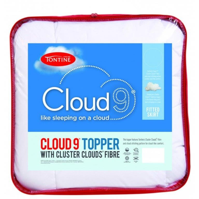 Cloud 9 Balled Mattress Topper by Tontine