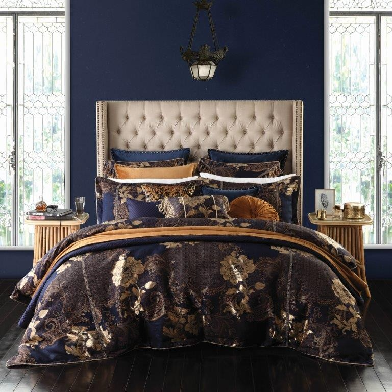 torelli navy by da vinci private collection davinci best price linen. Black Bedroom Furniture Sets. Home Design Ideas