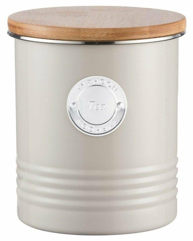 Typhoon Living Tea Canister 1L Putty