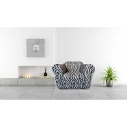 Zebra 1 Seater Chair Cover by Surefit