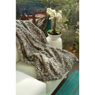 Luxury Animal Print Zebra Throw Rug by Jenny McLean