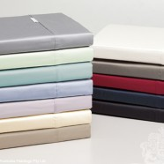 400 Thread Count Egyptian Cotton Sheeting Range by Logan & Mason