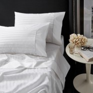 500 Thread Count Cotton Hotel Stripe Mega Sheet Sets by Private Collection