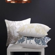 Bamboo Square Cushions by Florence Broadhurst