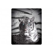 Blue Eyes Striped Tiger Throw by Just Home