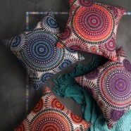 Circles Cushion by Logan & Mason