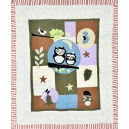 Owl Quilted Throw