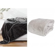 Pearl Classic Mink Blanket by Paxton & Wiggin