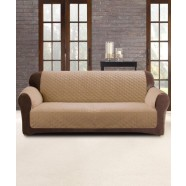 Dark Flax 2 Seater Custom Fit Couch Protector