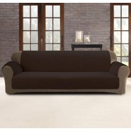 Coffee 3 Seater Custom Fit Couch Protector