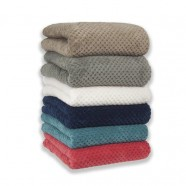 Diamond Fleece Blanket by Apartmento