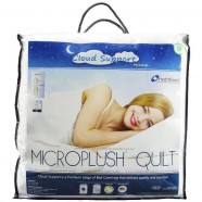 Cloud Support Microplush Quilt by Easyrest