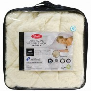 Washable Wool Underlay 600GSM by Easyrest