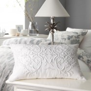 Hastings White Decorator Cushion by Private Collection