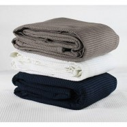 Cotton Waffle Blanket by Jason Commercial