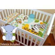 Jungle 3 Piece Cot Set