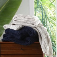Langley Knitted Throws by Private Collection