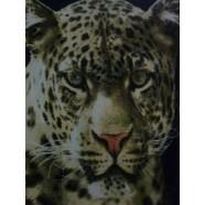 Leopard Polar Fleece Throw