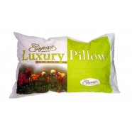 Luxury Sateen Fibre Ball Junior Size Pillow by Easyrest