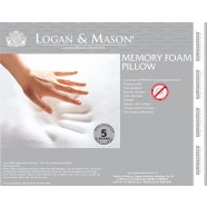 Memory Foam Pillow by Logan & Mason