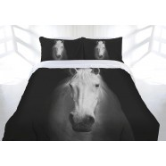 Midnight Horse Quilt Cover Set