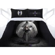 Anne Stokes Collection Prayer For The Fallen Quilt Cover Set