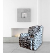 Zebra Recliner Chair Cover by Surefit