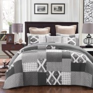 Stonewash Quilted Coverlet