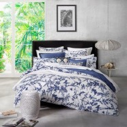 Tropical Floral Navy by Florence Broadhurst