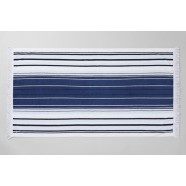 Waterfront Beach Towel Midnight by Sheridan