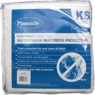 PVC & Terry Top Waterproof Mattress Protector by Pinnacle