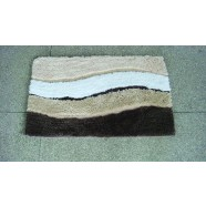 Microfibre Wave Brown Bathmat Range