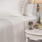 Contessa White Sheet Sets by Private Collection