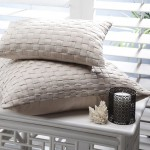 Genevieve Square Cushion by Private Collection